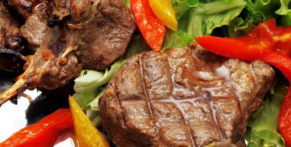 Roštilj - velika grill mesna plata za četiri osobe