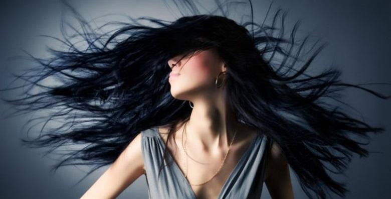 Modno ili kreativno šišanje i fen frizura duge kose