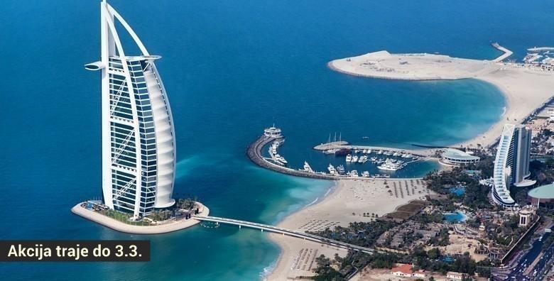 Dubai - 7 dana za dvije osobe, povratni let i pristojbe