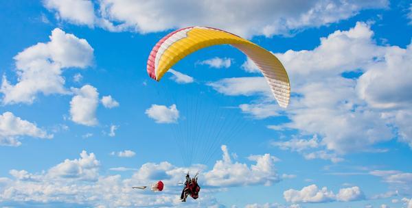 Paragliding let sa instruktorom za 195kn