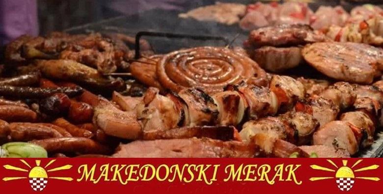 Meni po izboru u 3 slijeda u restoranu Makedonski Merak