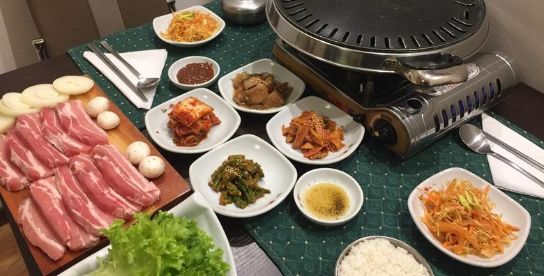 Korejska kuhinja za dvije osobe