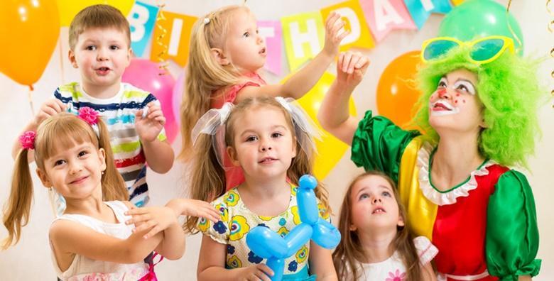 Najam dvorane za dječji rođendan u trajanju 3h