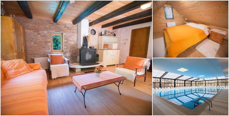 DONJA STUBICA - 2 noćenja za 2 osobe u drvenoj kući 3* uz cjelodnevne ulaznice za Terme Jezerčica i opuštanje na bazenima za 599 kn!