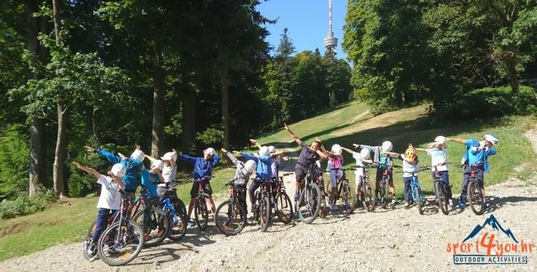 [OUTDOOR CAMP SLJEME] 4 dana sportskih aktivnosti za djecu - škola planinarenja, zip line, snalaženje u prirodi, kreativne radionice, bazen, prijevoz i ručak!