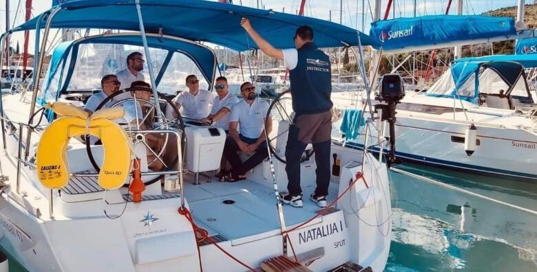 Trogir - trodnevni praktični tečaj za upravljanje brodicom uz dozvolu B kategorije za 3.200 kn!