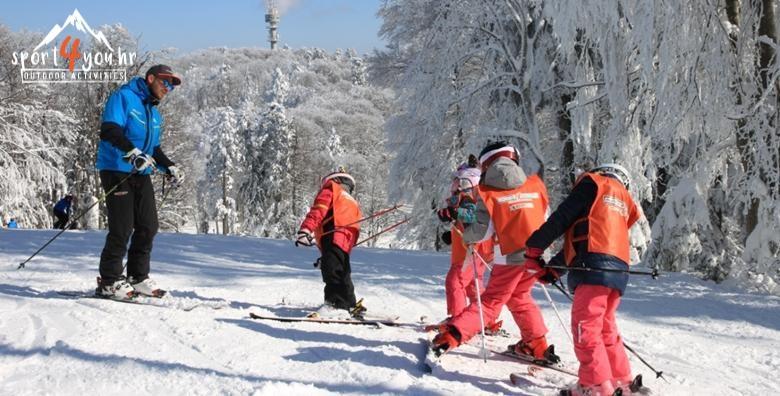 Škola skijanja na Sljemenu za djecu i odrasle - 2 dana s uključenom opremom u organizaciji Sport4you, EKSKLUZIVNO na Ponudi dana za 449 kn!