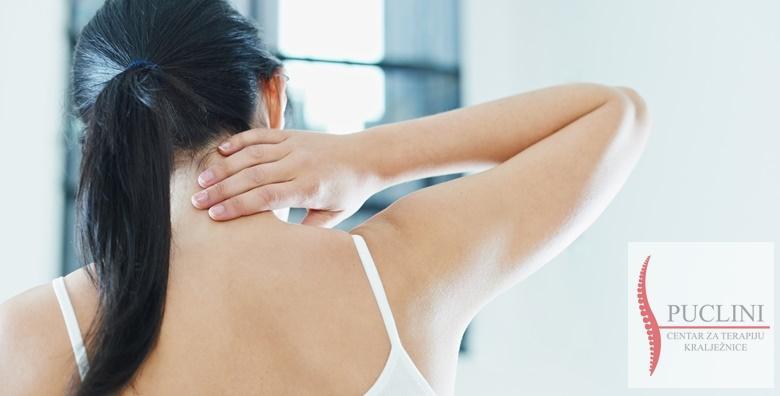 Pregled i terapija koja uklanja uzrok tegoba povezanih s kralježnicom, fokusirana na sve kralješke i mišiće koji se pritom jačaju i prirodno vraćaju u svoj pravilan položaj za 149 kn!