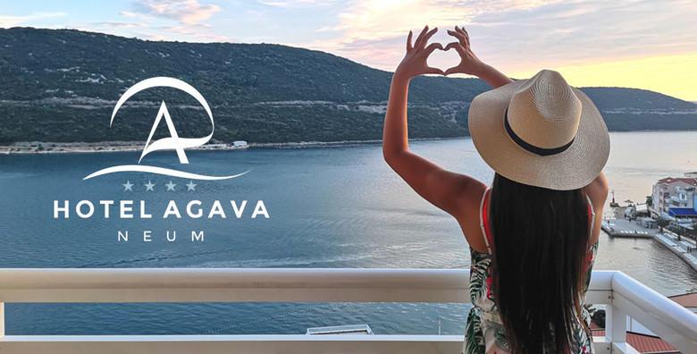 [NEUM] Odaberite godišnji odmor u rujnu i uživajte u ugodnim temperaturama! 3, 5 ili 7 noćenja s polupansionom za dvije osobe u Hotelu Agava 4*!