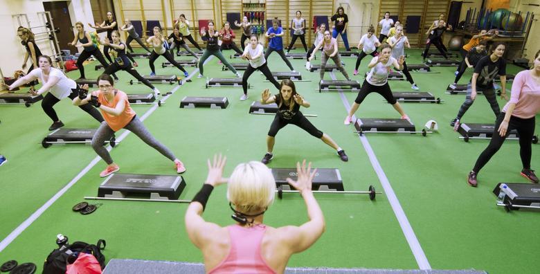GRUPNI TRENINZI - kreni SADA prema boljoj kondiciji i više energije!1 ili 2 mjeseca neograničenog vježbanja za žene i muškarce od 135 kn!