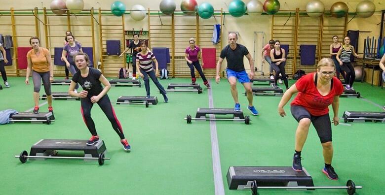 Grupni treninzi - 1 ili 2 mjeseca treninga u Fitness centru Jump već od 135 kn!
