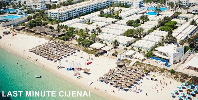 Ponuda dana: TUNIS ALL INCLUSIVE Pješčane plaže, šetnje pod zvjezdanim nebom i egzotična Afrika! 7 noćenja u hotelu po izboru uz povratni let i pristojbe - LAST MINUTE cijena! (Turistička agencija Sunčani odmorID kod: HR-AB-01-080649956)