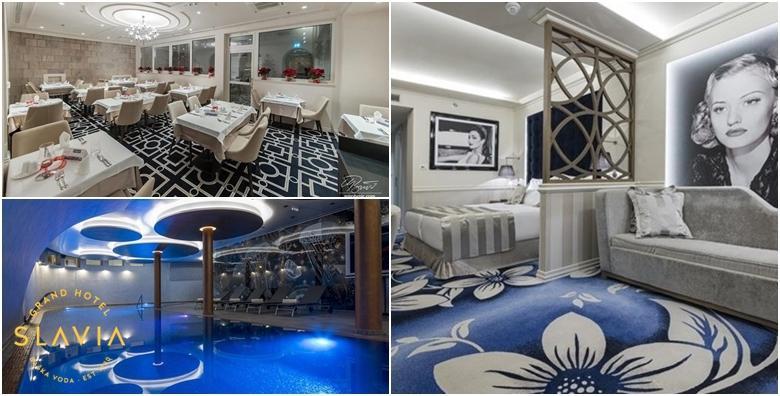 Ponuda dana: Baška Voda - 1 ili 2 noćenja za dvoje u luksuznim sobama u Grand Hotelu Slavia 4* uz polupansion i korištenje bazena, fitnessa i sauna već od 569 kn! (Grand Hotel Slavia 4*)