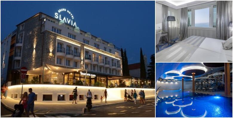 Baška Voda - 2 noćenja s polupansionom za 2 osobe u Grand Hotelu Slavia 4* od 1.275 kn!