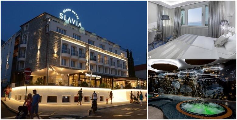 Baška Voda - 1 ili 2 noćenja s doručkom za 2 osobe u Grand Hotelu Slavia 4* od 389 kn!