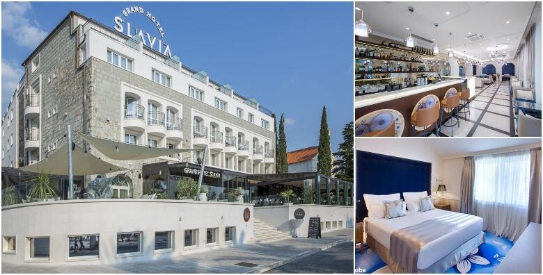Baška Voda - 2 noćenja s polupansionom za 2 osobe u Grand Hotelu Slavia 4* od 1.500 kn!