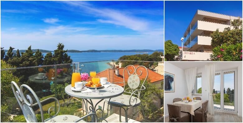 HVAR - 3 noćenja za 2 osobe u apartmanu s pogledom na more u Aparthotelu Pharia 3* za 1.575 kn!