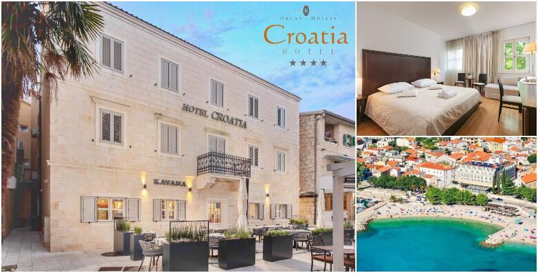 Baška Voda - 2 noćenja s doručkom za 2 osobe u Hotelu Croatia 4* za 1.465 kn!