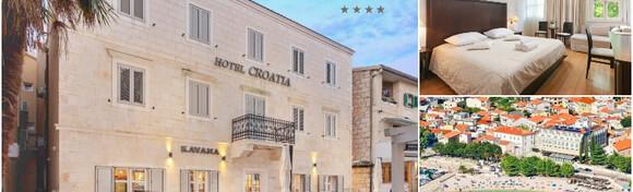 Baška Voda - opustite se u početku ljeta uz 2 noćenja s doručkom za 2 osobe + gratis smještaj za 1 dijete do 2,99 godina u predivnom Hotelu Croatia 4* za 1.465 kn!