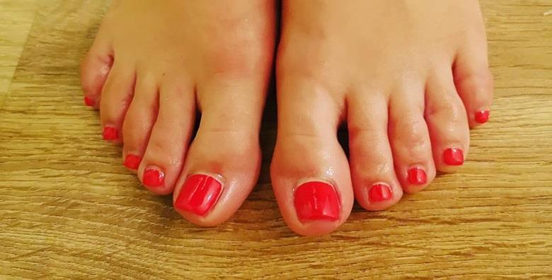 Estetska pedikura i trajni lak - potpuni tretman za lijepa stopala za samo 99 kn!