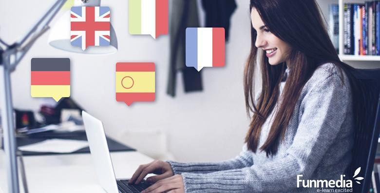 ONLINE TEČAJ - njemački, poslovni engleski, talijanski, španjolski ili francuski u trajanju 3, 6 ili 12 mjeseci uz mogućnost stjecanja certifikata već od 69 kn!