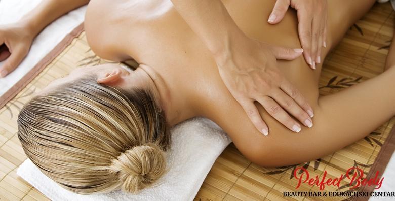 Klasična masaža - oslobodite se napetosti u mišićima i vratite energiju u tijelo uz pomoć profesionalnog osoblja salona Perfect Body već od 49 kn!