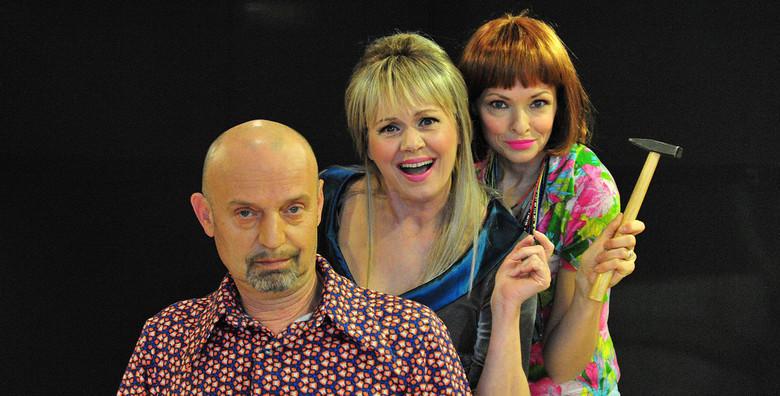Predstava Dekorater - urnebesno smiješna komedija o ljubavnom trokutu u izvedbi Ksenije Pajić, Ines Bojanić i Gorana Grgića za samo 45 kn!