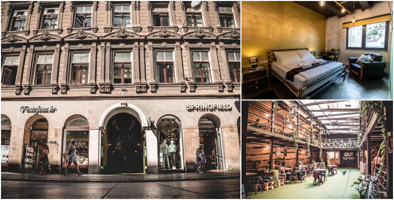 Zagreb -1 ili 2 noćenja s doručkom za 2 osobe u TimeOUT hotelu 4* u centru grada od 269 kn!