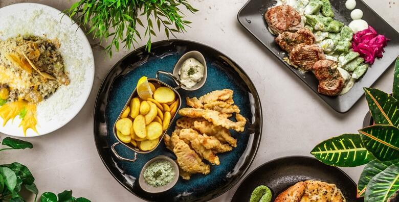 Plata za dvoje - lungić na kremi od tartufa i celera s domaćim zelenim njokima za samo 99 kn!