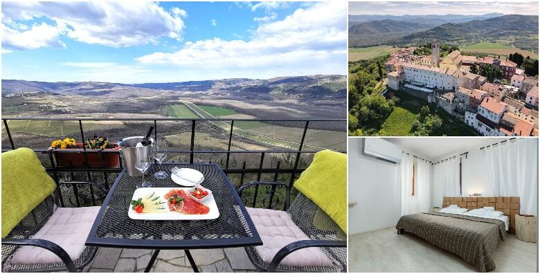 MOTOVUN - proljetni odmor u srcu Istre uz 2 noćenja s doručkom za dvoje u sobama 3* za 949 kn!