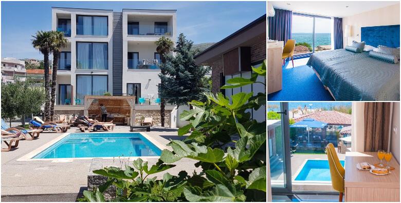 Split - uživajte u luksuzno uređenom Beach Hotelu Božikovina 3* smještenom tik do mora uz 2 noćenja s polupansionom za 2 osobe za 1.000 kn!
