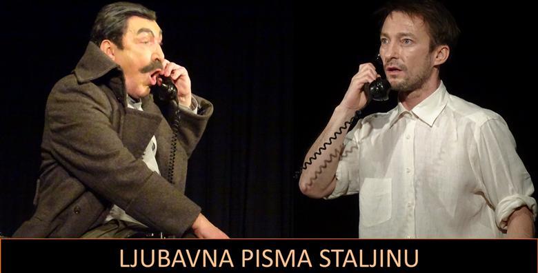 POPUST: 33% - Predstava Ljubavna pisma Staljinu - 30.11. uživajte u genijalnoj izvedbi Franje Dijaka, Anastasije Jankovske i Marka Torjanca za 40 kn! (Mala scena)