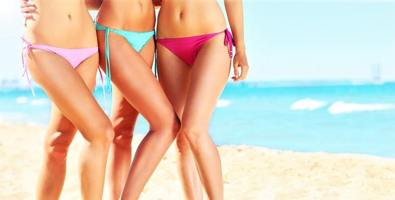 Depilacija voskom cijelih nogu i bikini zone za samo 69 kn!