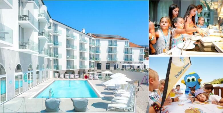 Novi Vinodolski - ljeto za pamćenje i savršen obiteljski odmor u hotelu Lišanj 4* uz 3 ili 4 noćenja za 2 osobe s polupansionom od 3.314 kn!