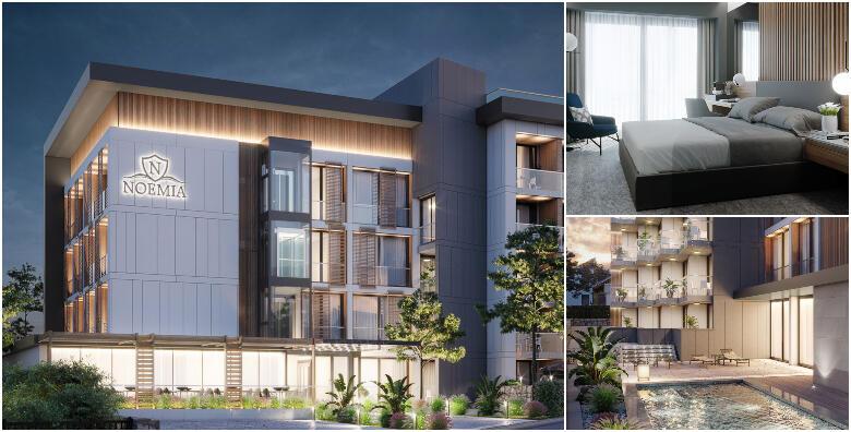 Baška Voda - provedite postsezonu u moderno uređenom Hotelu Noemia 4* uz 2 noćenja s polupansionom za 2 osobe od 1.269 kn!
