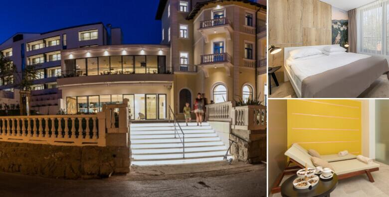 Romansa u Crikvenici - 2 noćenja s polupansionom za dvoje u Hotelu Esplanade 4* za 1.629 kn!