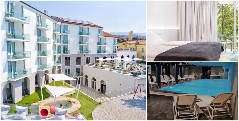 Novi Vinodolski - 2 noćenja s punim pansionom za 2 odrasle osobe + gratis smještaj za do 3 djece do 11,99 godina, korištenje SPA zone i bazena u Hotelu Lišanj 4* od 1.499 kn!