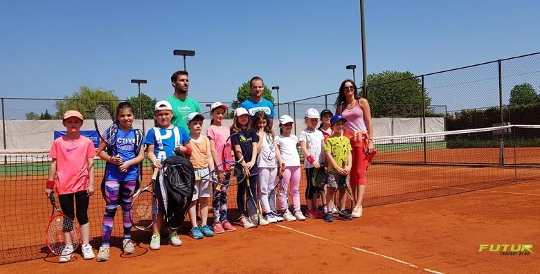 Tečaj tenisa s vrhunskim trenerima u trajanju od mjesec dana već od 160 kn!