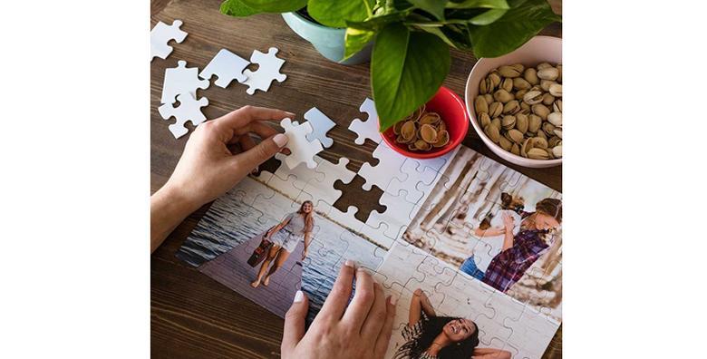 Puzzle A4 formata s fotografijom po izboru za 39 kn!