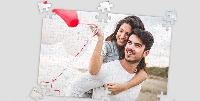 Personalizirane klasične ili super magnetne puzzle s fotografijama dragih ljudi već od 39 kn!