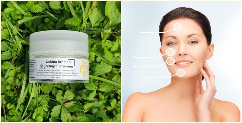 Gabina krema s pčelinjim otrovom – potpuno prirodno usporite procese starenja i reumatske promjene na koži za 199 kn!