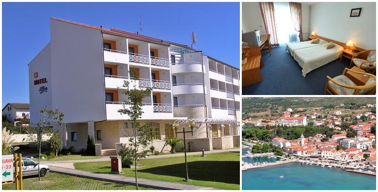 Sv. Filip i Jakov - odmor uz 4 noćenja s polupansionom za 2 osobe na morskoj ili park strani u Hotelu Alba 3*, u blizini plaže od 1.736 kn!