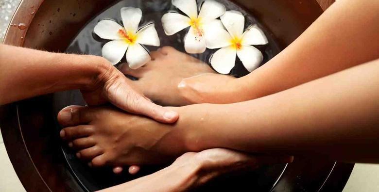 Medicinska pedikura i trajni lak na nogama