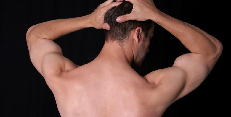 Depilacija leđa i ultrazvučni piling lica za muškarce