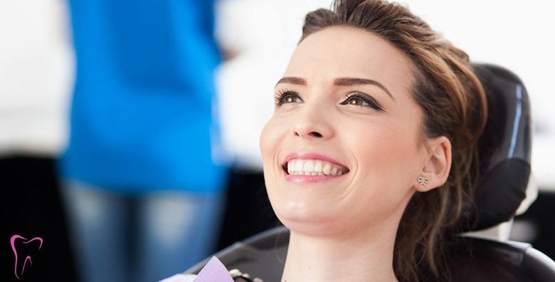 Čišćenje zubnog kamenca, pjeskarenje, poliranje ili plomba