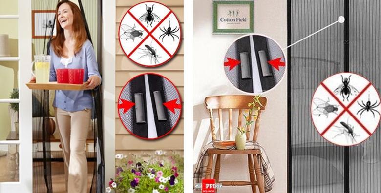 Mreža za vrata - zaštita od komaraca