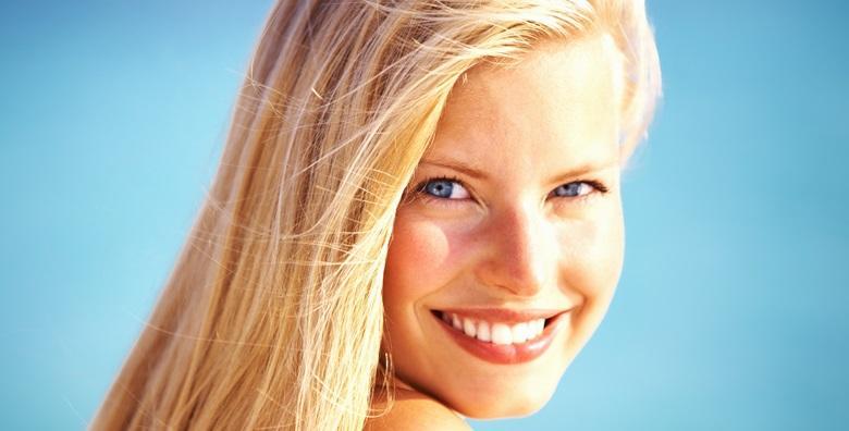Dubinsko čišćenje lica Afrodita kozmetikom i masaža lica