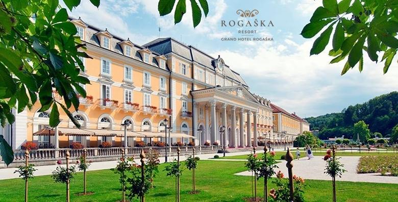 POPUST: 50% - Wellness opuštanje u Grand Hotelu Rogaška 4* - 2 noćenja s polupansionom za dvoje uz saune, fitness i whirlpool za 1.342 kn! (Grand hotel Rogaška 4*)