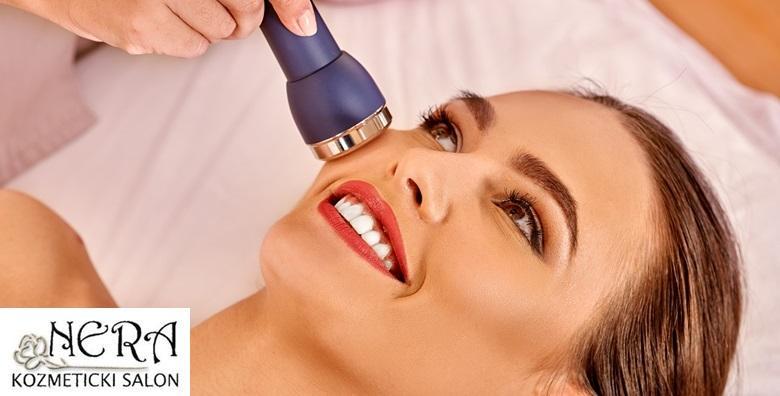 Rafiofrekvencija, LED maska - lifting kože lica