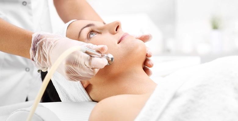 Mikrodermoobrazija, masaža lica, piling i maska